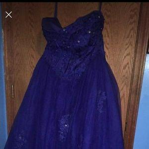 Dresses & Skirts - Royal Blue Prom Dress